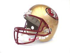 Riddell Full Size Replica Helmet SAN FRANCISCO SF  #Riddell #SanFrancisco49ers