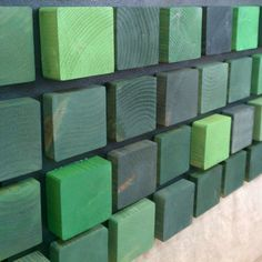 Green Emerald Squares  Tate Lowe - Etsy