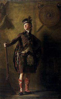 Sir Henry Raeburn  Colonel Alastair Ranaldson Macdonell of Glengarry (1771 - 1828) exhibited 1812