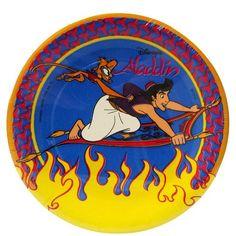 Aladdin Vintage 1992 Small Paper Plates (8ct)
