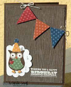 Cute owl bday