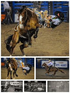 ❦  scottvarleyphoto: Nightly rodeo in Cody, Wyoming  Would love to go back!!!
