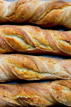 This classic french baguette recipe breaks down the step-by-step process so that you can achieve artisan homemade baguettes! This recipe produces authentic french baguettes with a crusty outside and a fluffy and chewy inside.