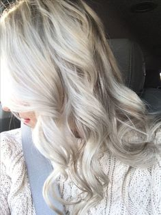 Ash Grey Blonde Hair Color