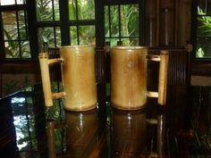 Bamboo crafts, Costa Rica.
