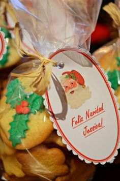 Biscuits de Acebo, AnAna´s Biscuits: Biscuits de Navidad!!