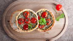 Spinatquiche #spinach #quiche #recipe #tomato #foodphotography