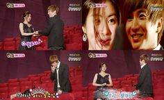 wgm_leeteuk_kangsora Kang Sora, Super Junior Leeteuk, We Get Married, Korean, Couples, Korean Language, Couple, Romantic Couples