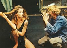 Movie Still from the amazing Antonioni movie, Blow-Up. It's beyond mod.