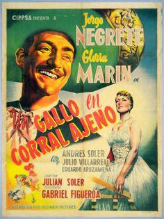 """Jorge Negrete y Gloria Marin """"Un Gallo en Corral Ajeno"""""""
