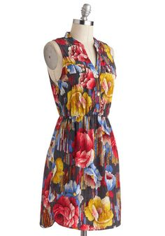 She's All Thatch Dress, #ModCloth