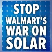 I just took action to urge the Walton family to stop their war on rooftop solar. I think you should too.