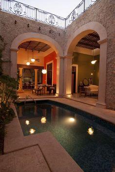 Casa Maclobia, Merida, Mexico $450 USD - TOPMexicoRealEstate.com. Yucatan, MEX