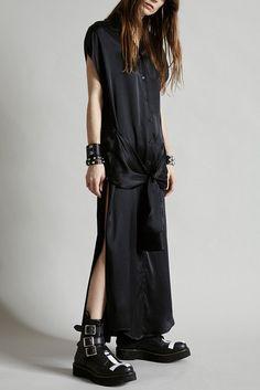 dd5da5d2670 X-long wrap dress. Neo GrungeSilk Shirt ...
