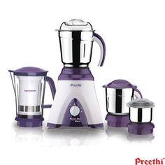 Preethi Appliances Mixer grinders: Buy Preethi Power One 500-Watts Blend Mixer Grinder Mg-191 Online | Oyekitchen.com