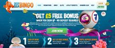 Deep Sea Bingo Review  5 Free Play No Deposit