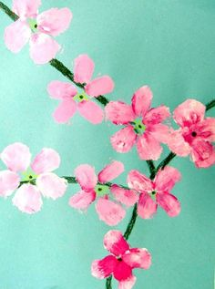 Artsonia Art Museum :: Artwork by ChristopherD3  Cherry Blossom