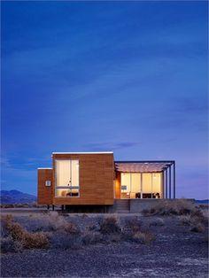 Rondolino Residence - Nevada, United States - 2010 - nottoscale (San Francisco)   http://www.nottoscale.com/prefab/