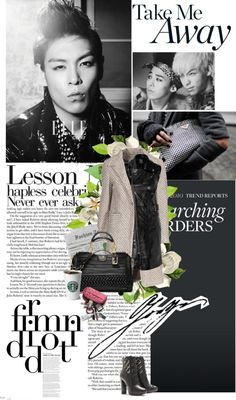 """""""I love GTOP he he , so cute"""" by cookielady ❤ liked on Polyvore"""