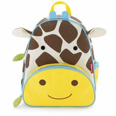Skip Hop Zoo Pack Little Kid Backpack, Giraffe