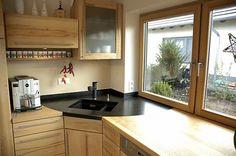 Pfister Küchen moderne holzküche in l form pfister massivholzküchen küchen