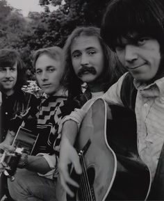 Graham Nash, Stephen Stills, David Crosby and Neil Young