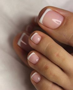 Trends 2019 inspiration. Acrylic Toe Nails, Almond Acrylic Nails, Shellac Nails, Pedicure Nails, My Nails, Nail Nail, Pedicure Ideas, Gel Toe Nails, Pedicure Colors
