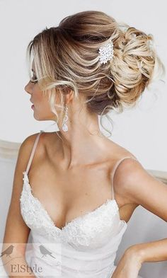 romantic bridal hairstyles 26