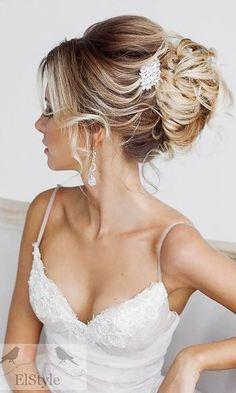 romantic bridal hairstyles 26