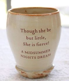 Shakespeare cups!!'