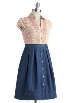 Expert in Effervescence Dress, #ModCloth