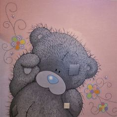 how to paint tatty teddy mural