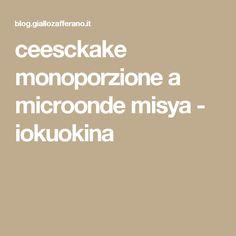 ceesckake monoporzione a microonde misya - iokuokina