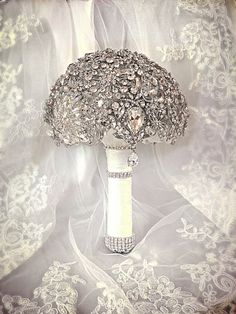 Flower Girl Brooch Bouquet. Reserved for by NatalieKlestov on Etsy, $150.00