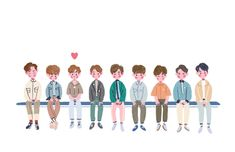 Cute Illustration, Character Illustration, Nct 127, Character Concept, Character Design, Character Drawing, Korean Art, Cute Chibi, Kpop Fanart