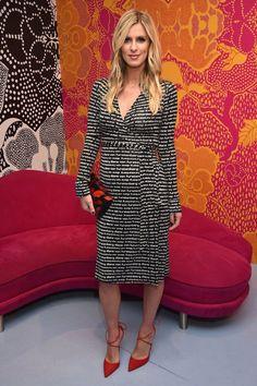 Nicky Hilton #pregnancydress,