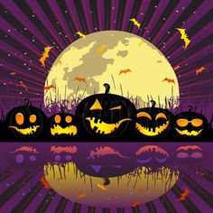 """Buy the royalty-free Stock vector """"Halloween pumpkin and cat, sleeping under the moon, vector"""" online ✓ All rights included ✓ High resolution vector fil. Whimsical Halloween, Halloween Moon, Halloween Ghosts, Halloween Pumpkins, Happy Halloween, Halloween Decorations, Halloween Costumes, Moon Vector, Moon Drawing"""