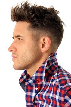 Popular mens short haircuts - again with the thick mop on top ...