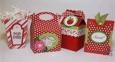 4 new treat boxes, Gable, Popcorn, Milk Carton and Crayon Box Box Template Printable, Paper Box Template, 3d Paper Crafts, Paper Gifts, Diy Gift Box, Gift Boxes, Milk Box, Gable Boxes, Crayon Box