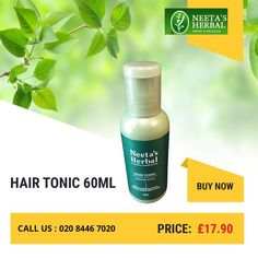 Buy HAIR TONIC 60ML for just £17.90