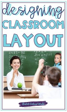 When someone walks into your classroom, the first thing they notice is how things are laid out. It says a lot about your teaching style, expectations on student participation, and your teaching philosophy. You may not get to choose your actual classroom, but you do have the option of optimizing your classroom layout as much as possible for what you want to achieve within those walls in terms of student engagement and classroom management. #learn #education #lessons #classroom #teaching