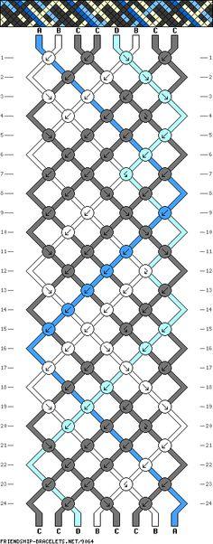8 strings 24 rows 4 colors