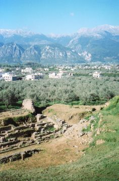 Ancient Sparta, Greece