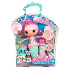 Lalaloopsy Bubbly Mermaid Doll- Pearly Seafoam