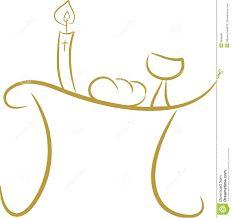Resultado de imagen de dibujos de objetos relacionados con la comunion