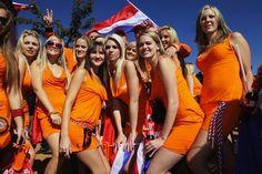 Het vorige model:   De 'Dutch Dress' voor het WK in 2010