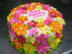 Buttercream flowers (Cakes)