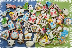 Gingerbread-ornaments for Christmas tree | Cookie Connection
