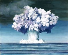 On November 16, 1952, a B-36H bomber dropped a nuclear bomb over a point north of Runit Island in the Enewetak atoll, resulting in a 500 kiloton explosion -- part of a test code-named Ivy. Description from pinterest.com. I searched for this on bing.com/images
