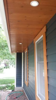 Exterior Corbel Truss Design For An A Frame Roof Line